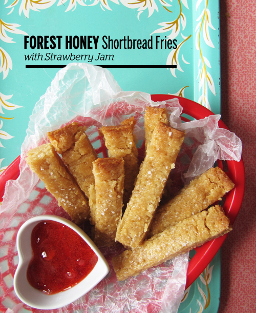 Forest Honey Shortbread Fries