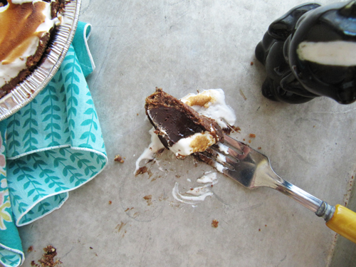 Coffee S'mores Pie {no bake}