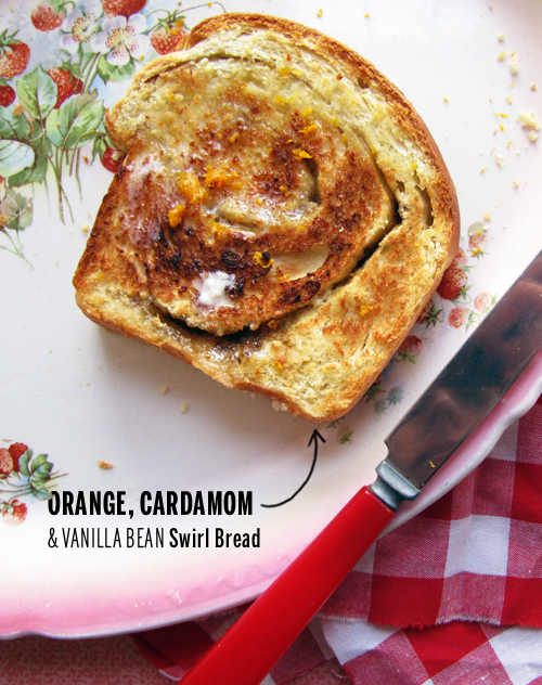 Orange Cardamom Bread Recipe — Dishmaps