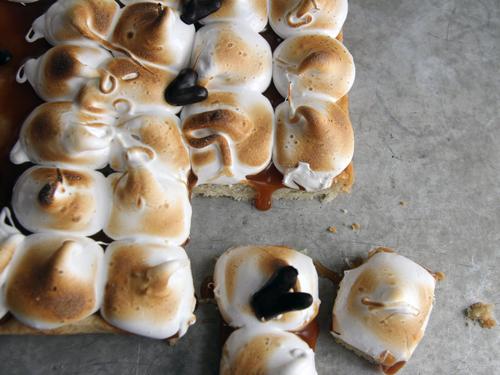 Toasted Marshmallow Squares Recipe — Dishmaps