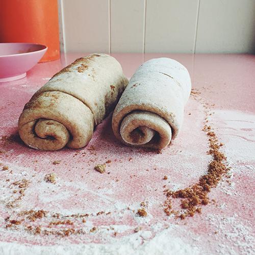 ... Bean, Brown Sugar, & Cinnamon Swirl Whole Wheat Bread (makes 2 loaves