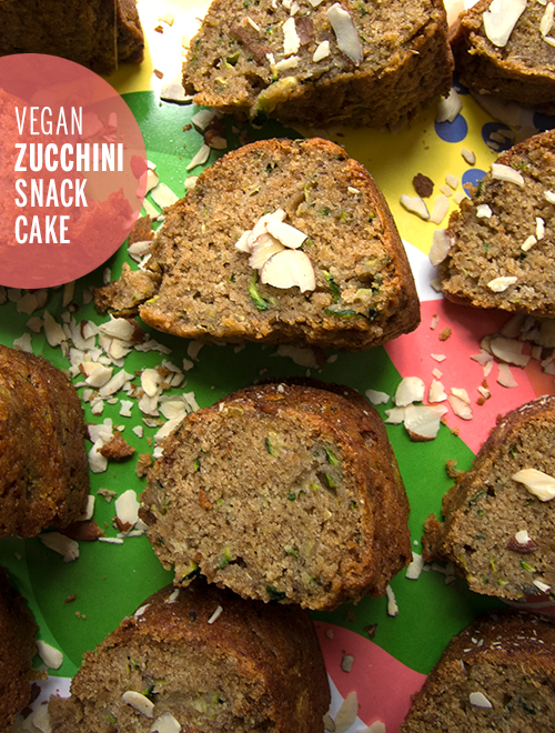 Vegan Zucchini Cake Recipe — Dishmaps